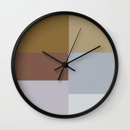 Earth Colors  Wall Clock