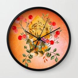 Autumn impression, Wall Clock