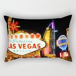 Living Las Vegas 2 Rectangular Pillow