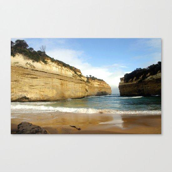 Gigantic Cliffs of the Ocean Canvas Print
