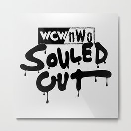 Souled Out Metal Print