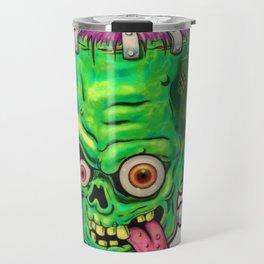FrankenHead Travel Mug