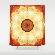 Inner Gravity Shower Curtain