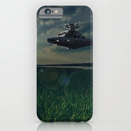 The calm before the storm iPhone Case