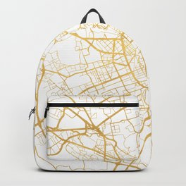 MILAN ITALY CITY STREET MAP ART Backpack