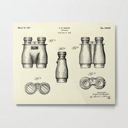 Binoculars-1947 Metal Print