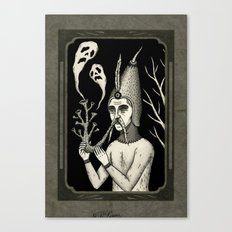 Man With Ghost Pipe Canvas Print