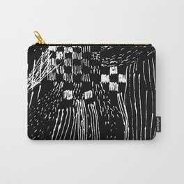 square rain Carry-All Pouch