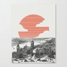 Goodnight London Canvas Print
