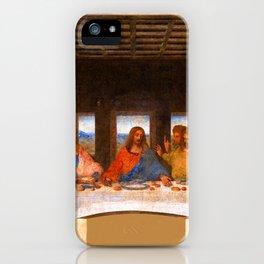 The Last Supper Painting by Leonardo da Vinci  Jesus Christ iPhone Case