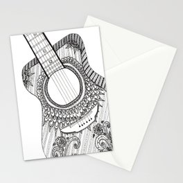 Guitar Solo Stationery Cards