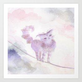 Varo Tiptoe Sky Art Print