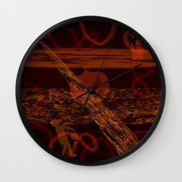 Spooky Holiday I Wall Clock