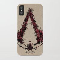 saga iPhone & iPod Cases featuring Assassin's Creed Saga by s2lart
