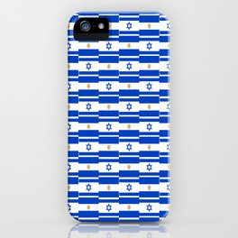 Mix of flag: Israel and Argentina iPhone Case