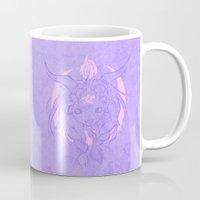 baphomet Mugs featuring Baphomet V2 by Savannah Horrocks