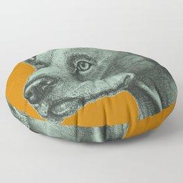 Critter Sketch Floor Pillow