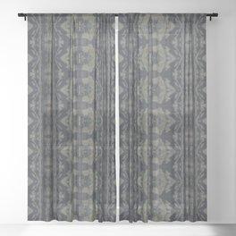 Moody Shibori Sheer Curtain