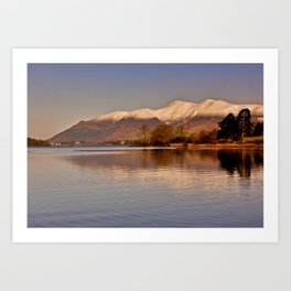 Derwentwater - Lake District Art Print