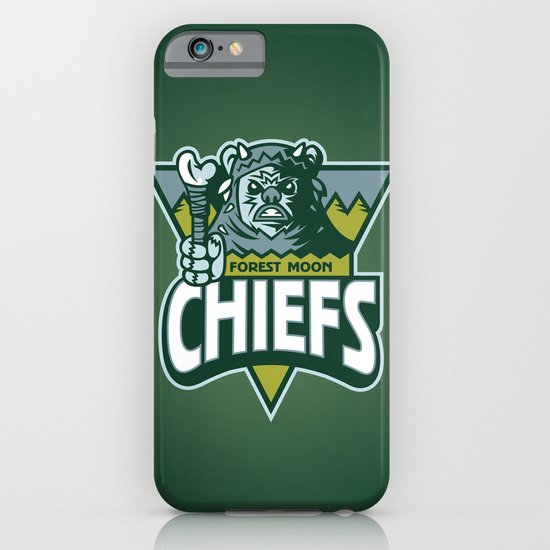 Forest Moon Chiefs - Green iPhone & iPod Case