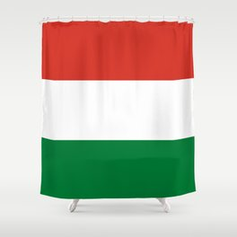 Flag: Hungary Shower Curtain
