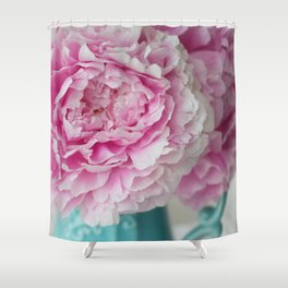 Peony Afternoon 1 Shower Curtain