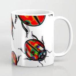 Hyper Spotted Lady Birds Coffee Mug