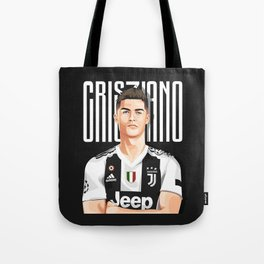 Cris7iano Juve Design Tote Bag