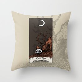 10 Yars of Visions  Between Dream and Nightmare Throw Pillow
