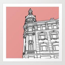 Pink CPH Art Print