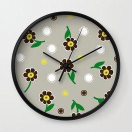 primula polyantha Wall Clock