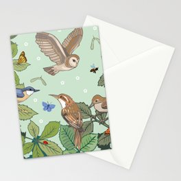 Woodland Birds Stationery Cards