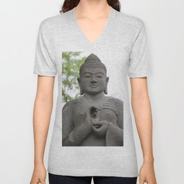 Buddha Unisex V-Neck