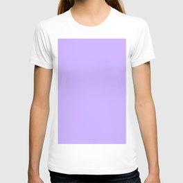 Lavender Flat Color T-shirt