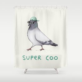 Super Coo Shower Curtain