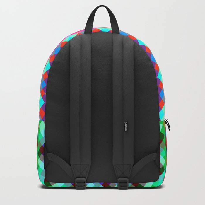 Multicolored pixels Backpack