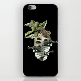 protection for fake strong heart iPhone Skin
