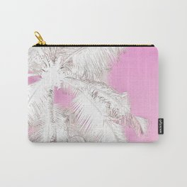 High palms in pink Carry-All Pouch