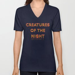 Creatures of the Night Unisex V-Neck