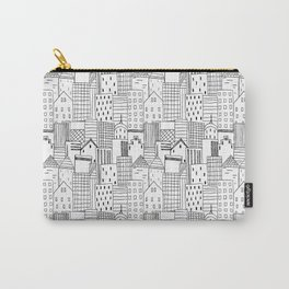 Cityscape in black and white Carry-All Pouch