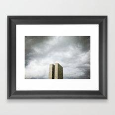 Brasilia, Brazil  Framed Art Print