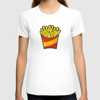 fries T-shirts featuring French Fries by Sifis