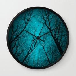 Endure the Darkness Wall Clock