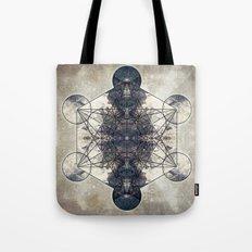 Metatron's Cube 014b Tote Bag