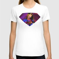supergirl T-shirts featuring Supergirl by EarlyHuman
