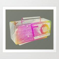 Transistor Radio Special Rock Poster Edition Art Print