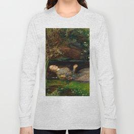 Ophelia - John Everett Millais Long Sleeve T-shirt