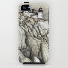 Bass Harbor Head Lighthouse iPhone (5, 5s) Tough Case