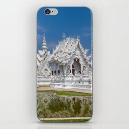 White Temple Thailand iPhone Skin