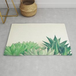 Succulent Forest Rug
